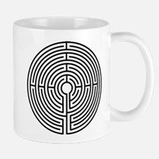 Medieval Labyrinth Symbol Mug