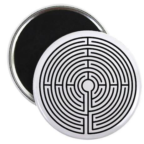 """Medieval Labyrinth Symbol 2.25"""" Magnet (100 pack)"""
