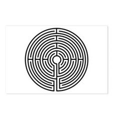 Medieval Labyrinth Symbol Postcards (Package of 8)