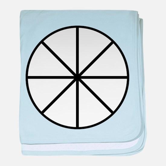 Alchemical Symbol For Ether baby blanket