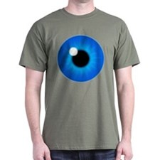 Blue Eye Iris and Pupil T-Shirt