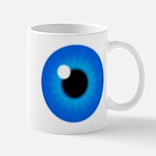 Blue Eye Iris and Pupil Mug