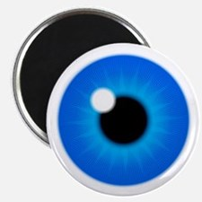 Blue Eye Iris and Pupil Magnet
