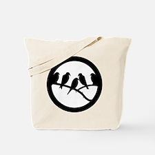 Bird Badge Icon Tote Bag