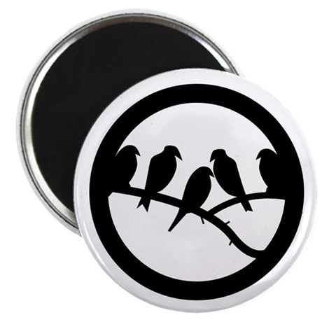 "Bird Badge Icon 2.25"" Magnet (100 pack)"