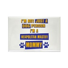 Neapolitan Mastiff Mommy Rectangle Magnet (100 pac