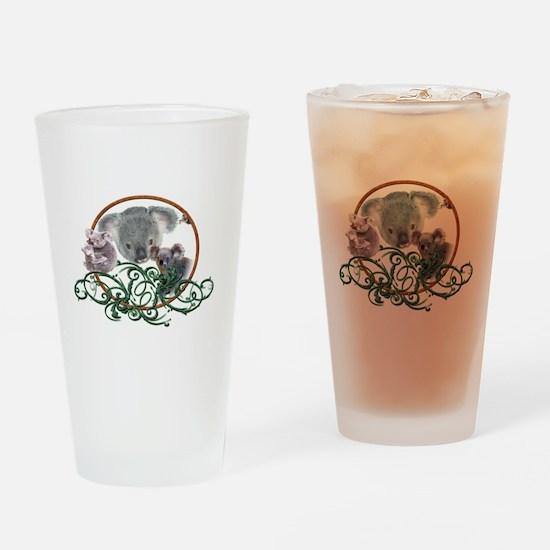 Koala Bear Pint Glass