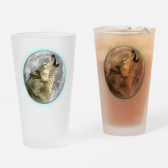 Howling Wolf Pint Glass