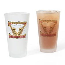 Flaming Sax Pint Glass