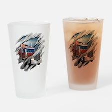 Torn Trucker Pint Glass