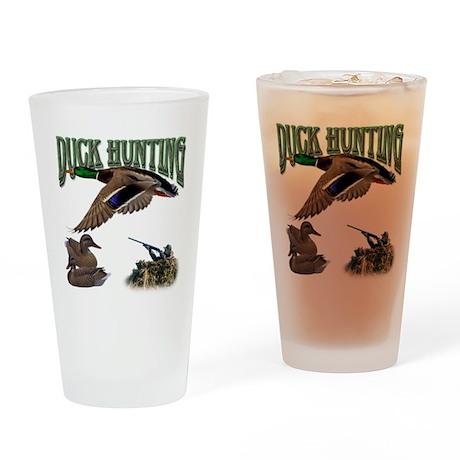Duck Hunting Pint Glass