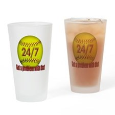 24/7 Pint Glass