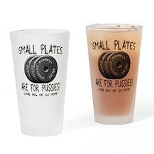 Small plates... Pint Glass