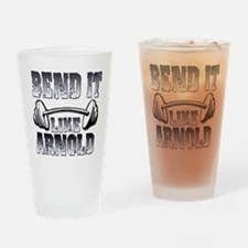 Bend it Pint Glass