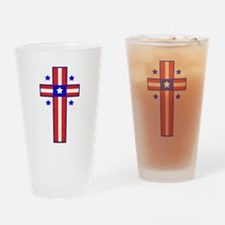 Christian Cross Drinking Glass