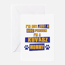 Kuvasz Mommy Greeting Card