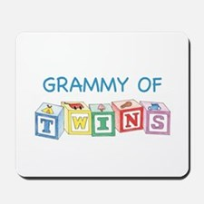 Grammy of Twins Mousepad