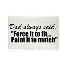 Wisdom of dad Rectangle Magnet