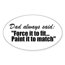 Wisdom of dad Decal