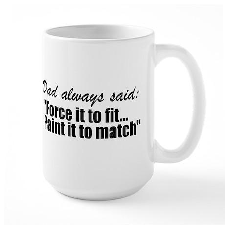 Wisdom of dad Large Mug