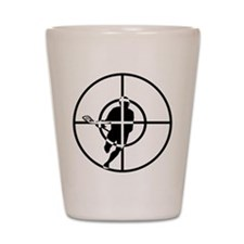 Lacrosse Sniper Shot Glass