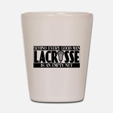 Lacrosse Empty Net Shot Glass