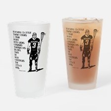 Lacrosse USG Quote 1 Pint Glass