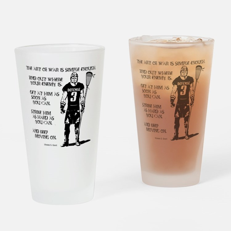 Lacrosse USG Quote 2 Pint Glass
