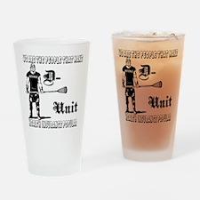 Lacrosse DUnit Insurance Pint Glass