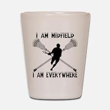 Lacrosse Middie Shot Glass