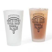 Lacrosse Goalies Amozza Drinking Glass