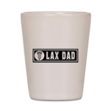Lacrosse LaxDad Shot Glass
