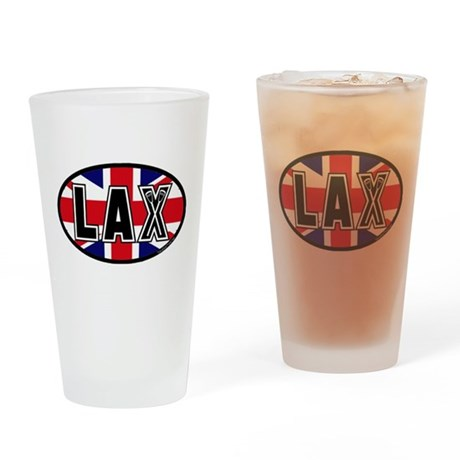 Lacrosse UK Pint Glass