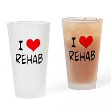 I Love Rehab Pint Glass