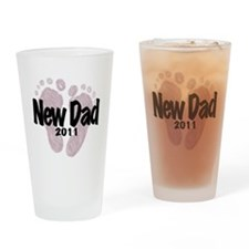 New Dad 2011 (Girl) Pint Glass