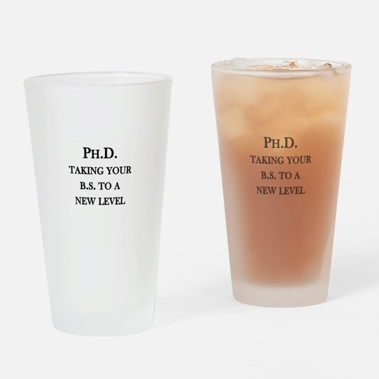Ph.D. - Taking your B.S. to a Pint Glass
