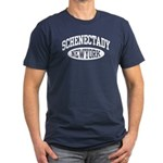 Schenectady NY Men's Fitted T-Shirt (dark)