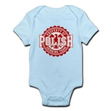 Property of Polish Drinking T Infant Bodysuit