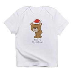 Merry Christmas Bear Infant T-Shirt
