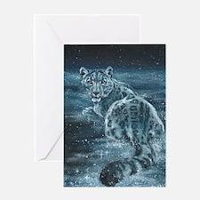 Star Leopard Greeting Card