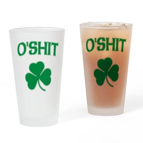 Irish O'Shit Pint Glass