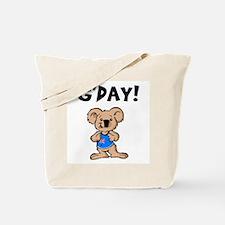 Australian Koala G'Day Tote Bag