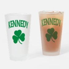 Kennedy Irish Pint Glass