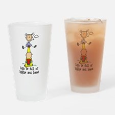 Teeter Totter Pint Glass