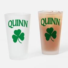 Quinn Irish Pint Glass