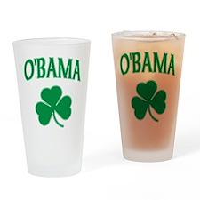 Irish Obama Pint Glass