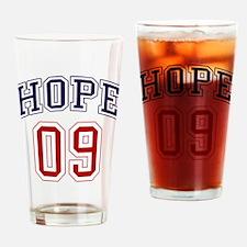 Barack Obama Hope 09 Pint Glass