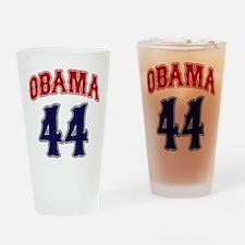 Obama 44 rwb Pint Glass