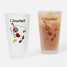 I Snorkel Pint Glass