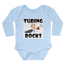Tubing Rocks Long Sleeve Infant Bodysuit
